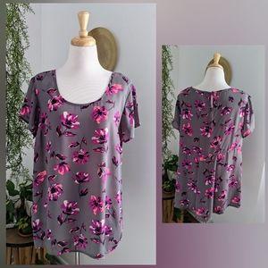 Torrid | Floral Blouse | Size 0 (10/12)